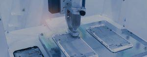 robot holding glue syring injection-slider